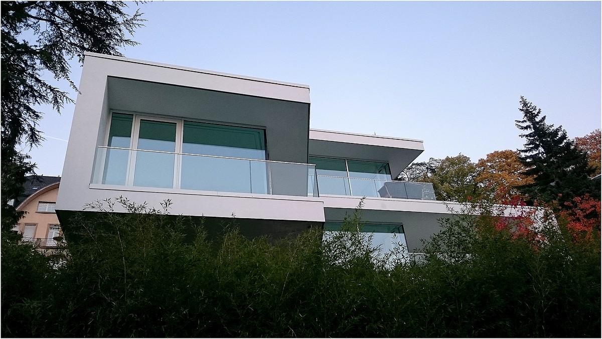 b den terrazzo in extrawhite einfamillienhaus in baden baden d architekt willi burk. Black Bedroom Furniture Sets. Home Design Ideas