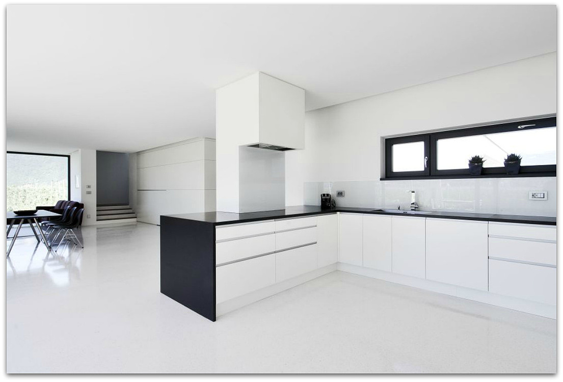 Terazzo Boden böden terrazzoboden in bianco carrara leifers i architects